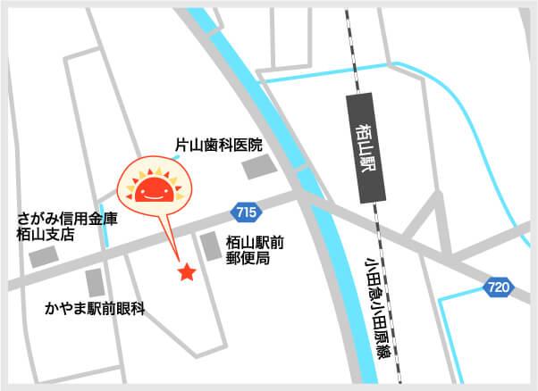 サンライズキッズ保育園 小田原園 周辺地図