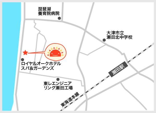 サンライズキッズ保育園 大津園 周辺地図