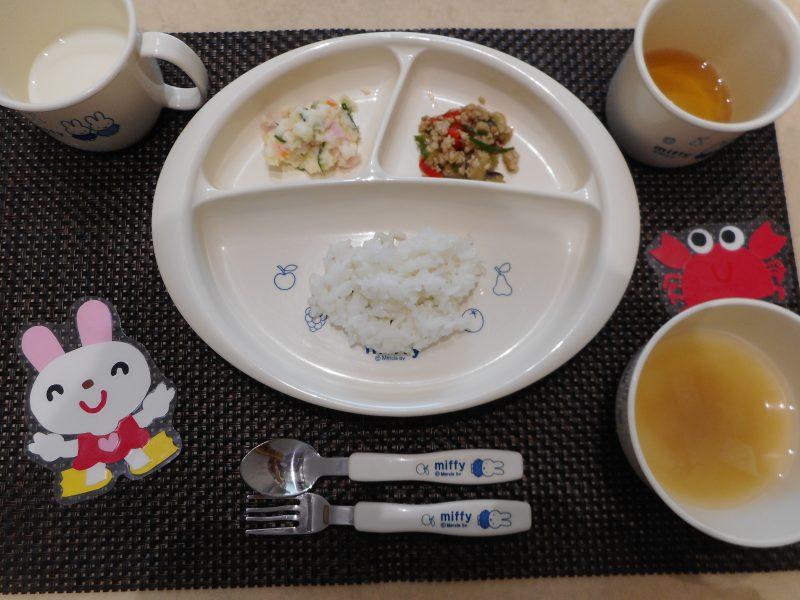 8月3日(金) 乳児食