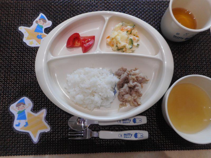 7月8日(月)幼児食・離乳食
