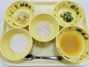 7月28日(水)の給食・おやつ